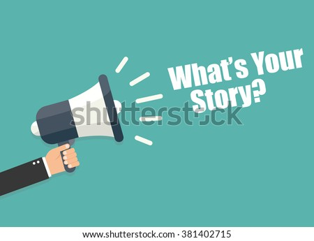 What's your story Stock foto ©