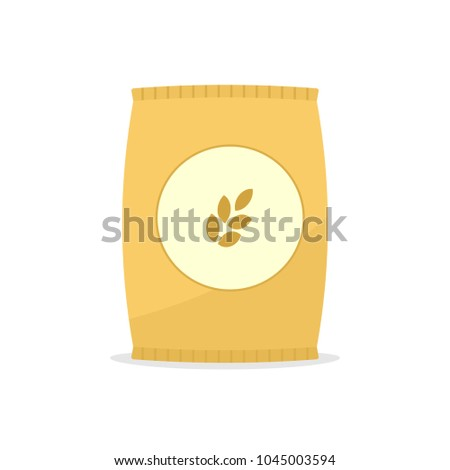stock-vector-wheat-bag-icon-clipart-image-isolated-on-white-background