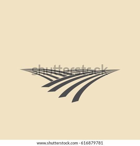 wheat field icon