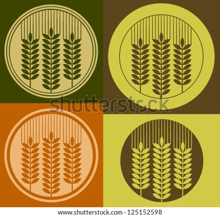 wheat icons