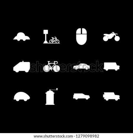 wheel icon set about mouse