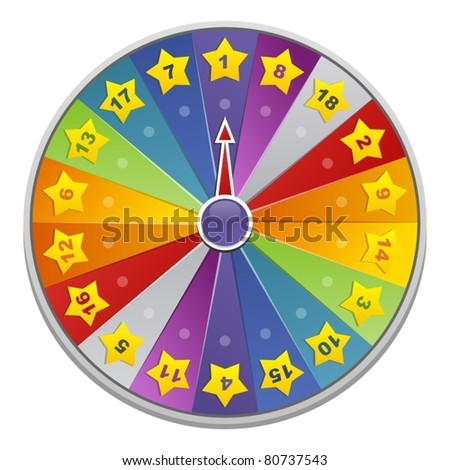 Wheel of fortune for game