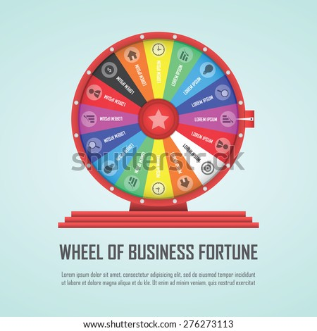 wheel of fortune infographic