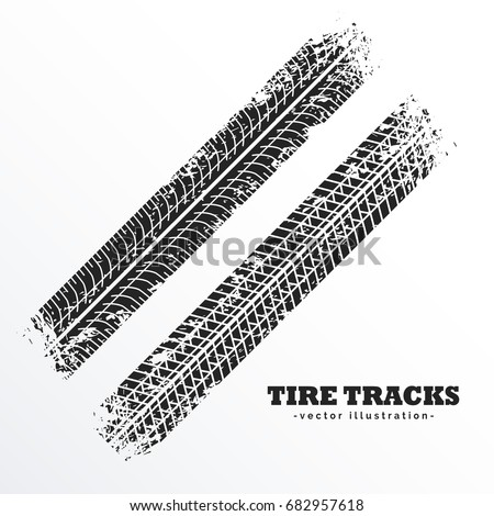 wheel tire tracks background