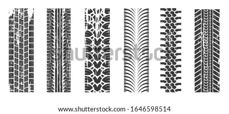 wheel tires traces  car tread
