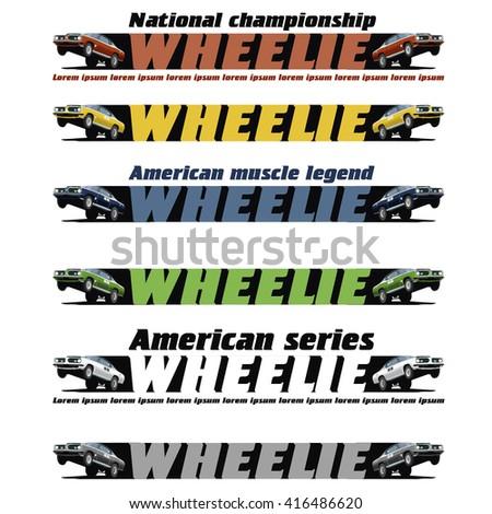 wheelie car set banner