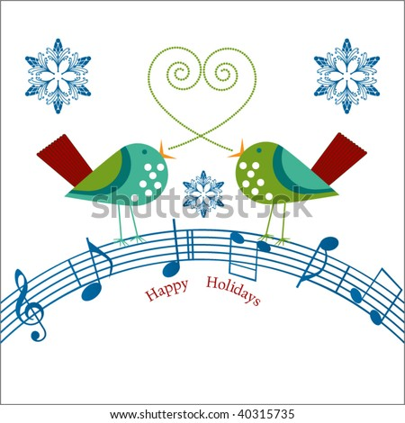 Fabulous musical notes vector pics