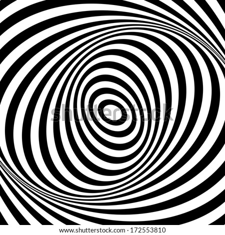 whirl movement illusion op art