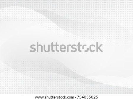 white abstract background with futurisctic and modern concept #754035025