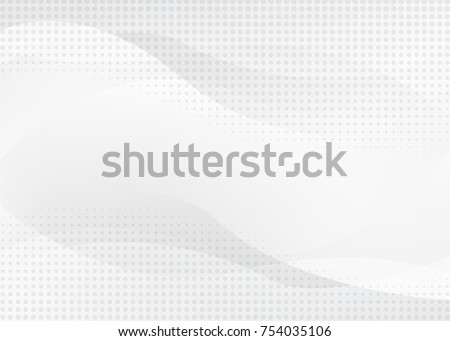 white abstract background with futurisctic and modern concept #754035106