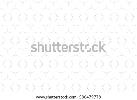 White abstract seamless geometric texture