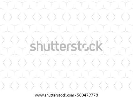 White abstract seamless geometric texture