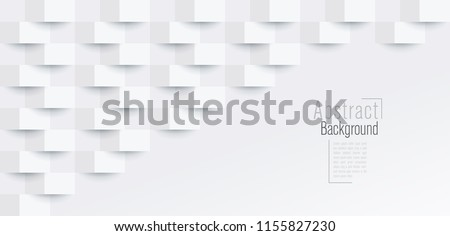 White abstract texture. Vector background can be used in cover design, book design, poster, cd cover, website backgrounds or advertising. #1155827230