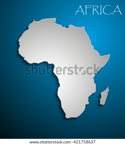 white african continent image