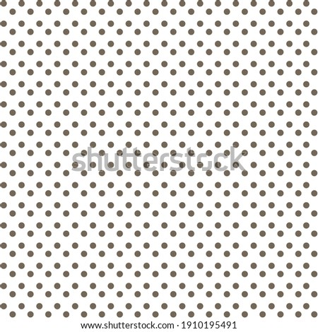 White and black Polka Dot seamless pattern. For tablecloths, clothes, shirts, dresses, paper, bedding, blankets, quilts, and other textile products. Vector background.