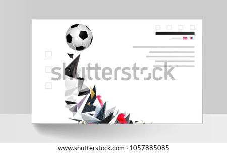 white and black soccer football