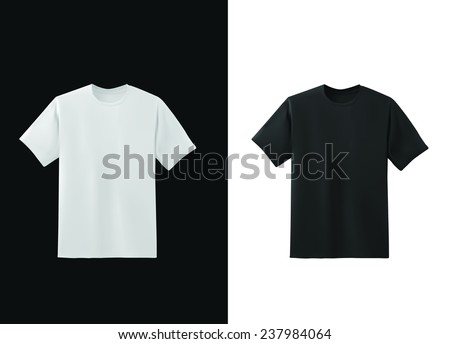 Vector Illustration: T-Shirt Design Template (For Men) - Download
