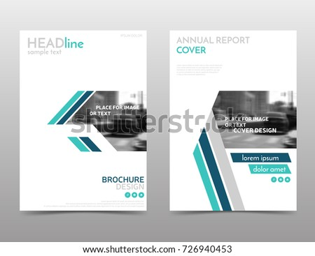 White and blue brochure design, technology annual report cover. Abstract flyer template, leaflet layout. Presentation template in a4 size, corporate identity, eps 10