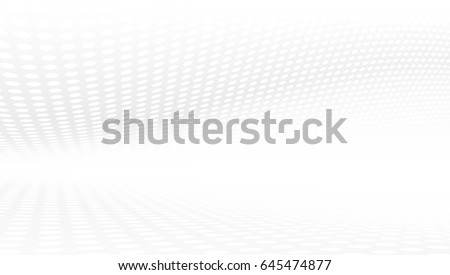 White And Grey Abstract Perspective Background 16x9. EPS10 Vector #645474877