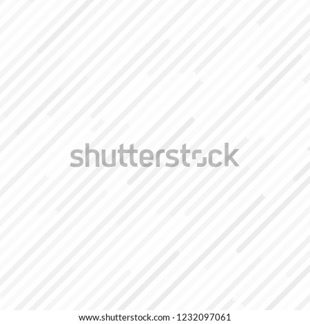 White and grey diagonal strips background, Modern white random line backdrop, Vector #1232097061