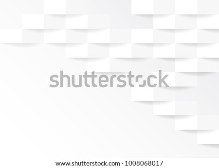 white and grey geometric