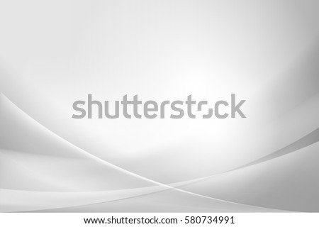 White and silver abstract background vector illustration