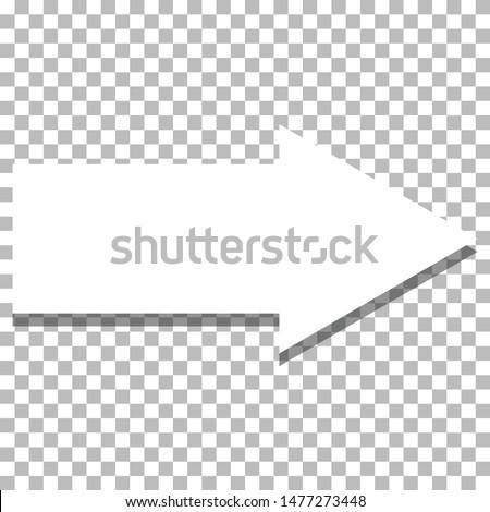 white arrow icon on transparent background. flat style. white arrow icon for your web site design, logo, app, UI. arrow symbol. arrow sign.