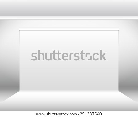 White backdrop vector background