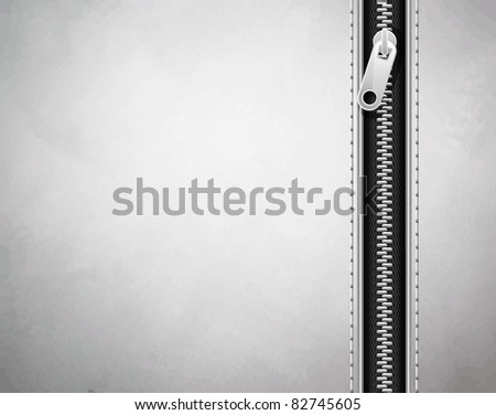white background made of leather with a lock