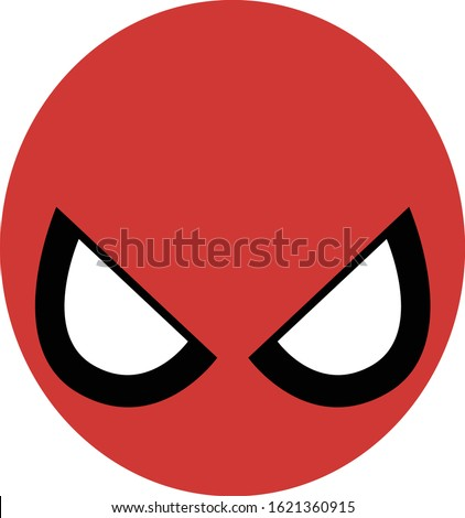 white background vector red and