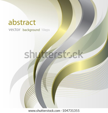 White background with golden pattern