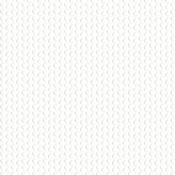 White background with rounded embossed shapes. Abstract vector.