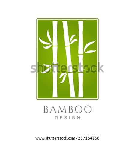 white bamboo trees silhouettes