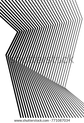 White black color. Linear background. Design elements. Poligonal lines. Protective layer for banknotes, certificates template. Vector Vector lines of different thicknesses from thin to thick EPS 10