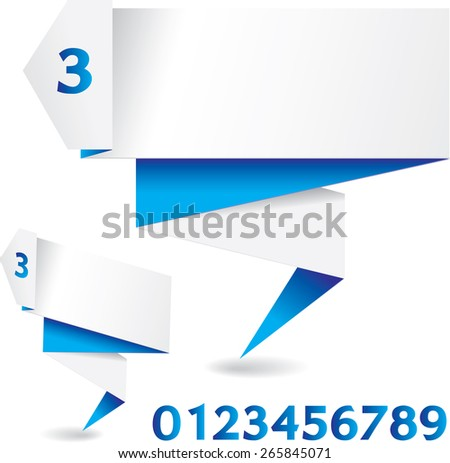 folded banner download free vector art stock graphics images