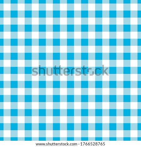 White-blue tablecloth. Seamless pattern. Kitchen decor. eps 8, 2d vector illustration Photo stock ©