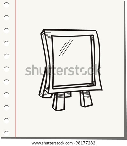 White board on background
