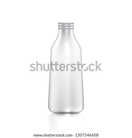 white bottle packaging on a
