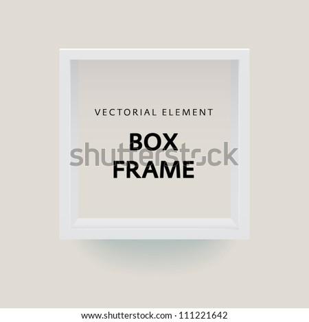 White box frame element