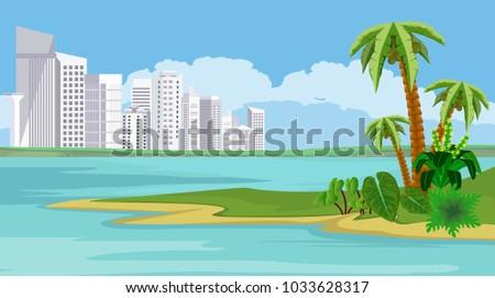 white buildings of big resort