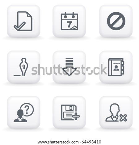 White button for web 2