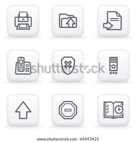 White button for web 4