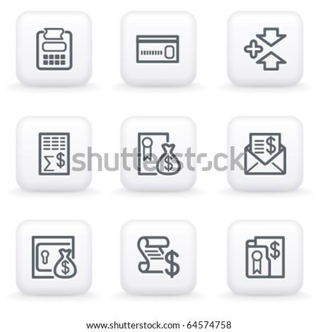 White button for web 14