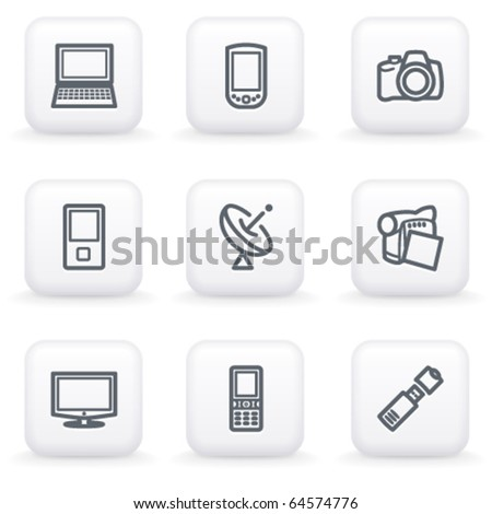 White button for web 16
