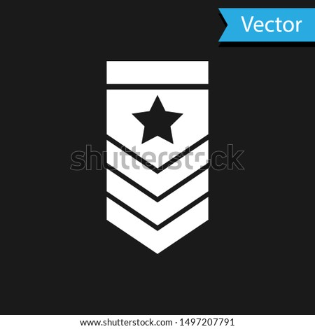 white chevron icon isolated on
