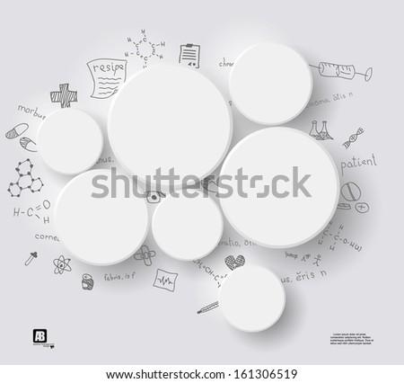 white circles on gray