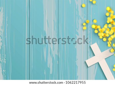 Christian Religious Design For Easter Celebration, Saviour Cross.. Royalty  Free Cliparts, Vectors, And Stock Illustration. Image 121772349.