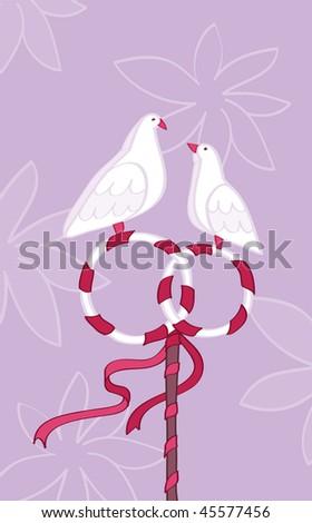 Heeral Shaked Saskia website birdcage with love birds for wedding clipart