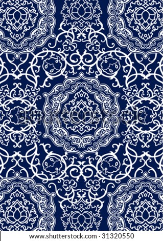 ArtbyJean - Images of Lace: Navy blue and white scrapbook frames