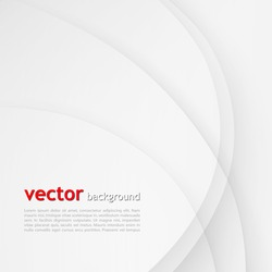 white elegant business background vector wave lines wavy